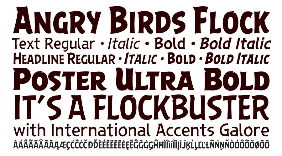 angry birds fonts 2016 comicraft comicraft