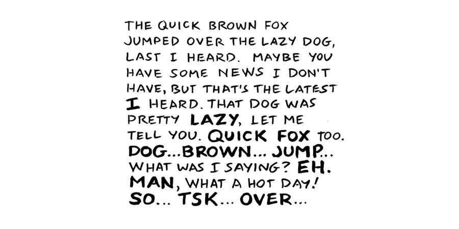 Google Chrome Scott McCloud fonts – Comicraft